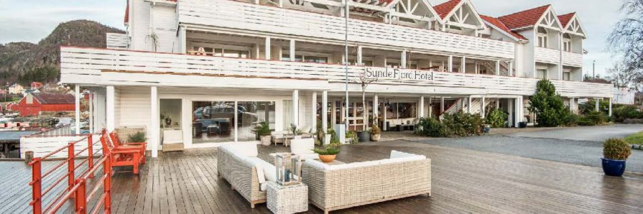 SUNDE FJORD HOTEL TIL SALGS