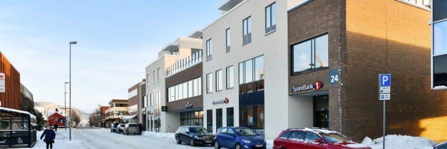 Selges i Stjørdal sentrum